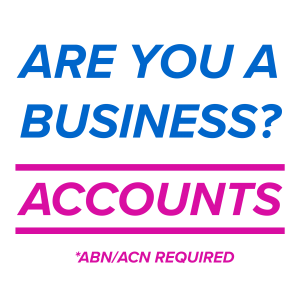 30 Day & 14 Day Accounts for approved companies & sole traders