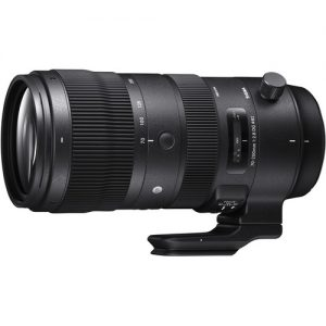 Sigma 70-200mm f/2.8 Side on Black Dog Camera Hire